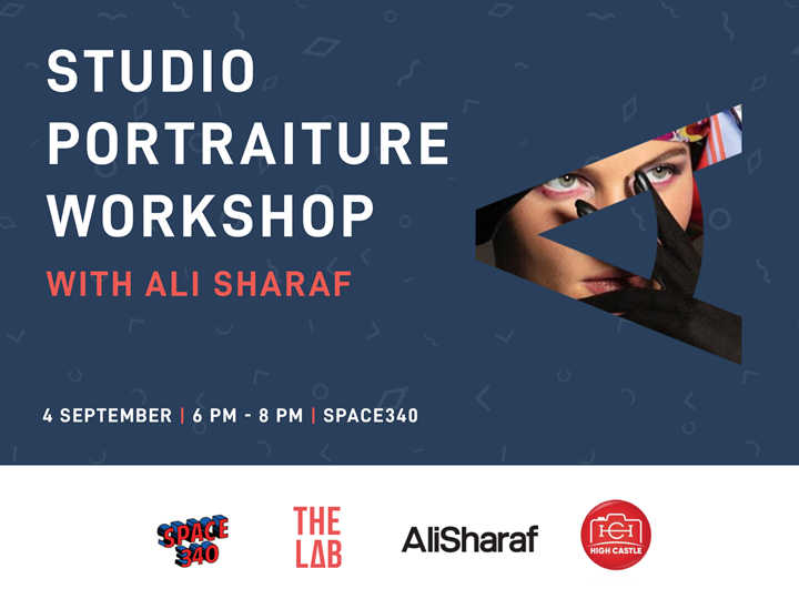 Studio Portraiture Workshop with Ali Sharaf