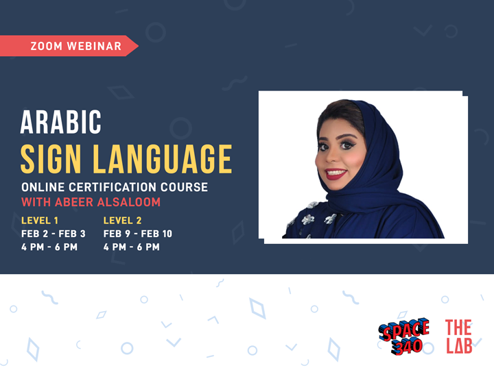 Arabic Sign Language Course-Level 1