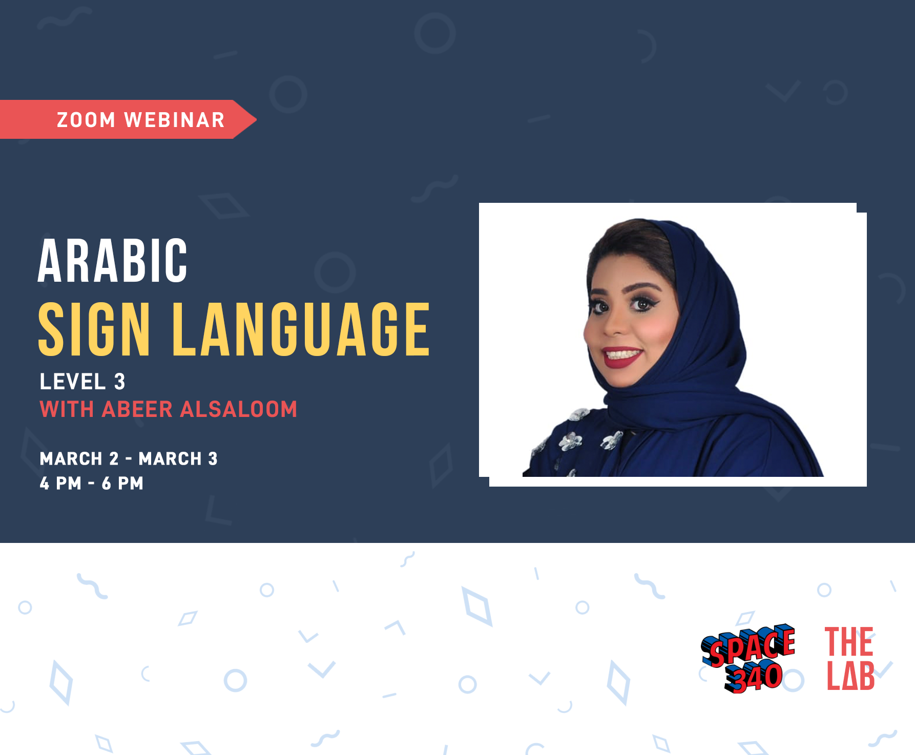 Arabic Sign Language Course-Level 3