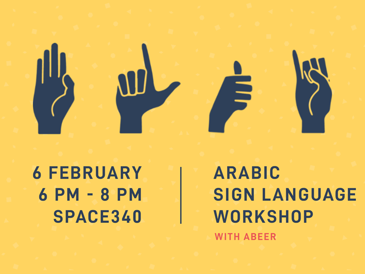 Arabic Sign Language Workshop